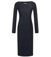 Синее платье с люрексом RINASCIMENTO 8795