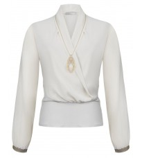 Белая блуза RINASCIMENTO 88333
