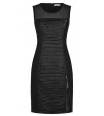 Черное платье на молнии RINASCIMENTO 88339
