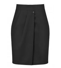 Черная юбка с запахом RINASCIMENTO 88451