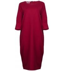 Красное прямое платье RINASCIMENTO 88133