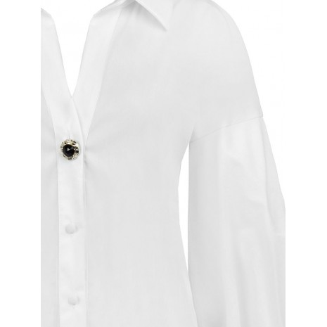 Стильная белая блуза RINASCIMENTO 15543