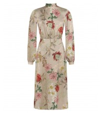 Бежевое платье с принтом RINASCIMENTO 15582