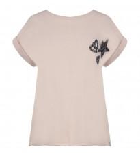 Розовая толстовка с декором RINASCIMENTO 84620