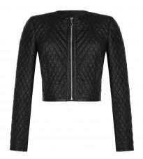 Черная стеганная куртка RINASCIMENTO 85032