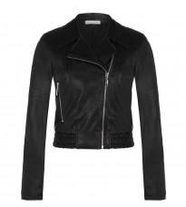 Стильная черная куртка RINASCIMENTO 85046