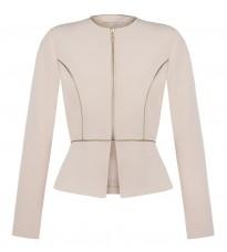 Розовый приталенный пиджак RINASCIMENTO 85511