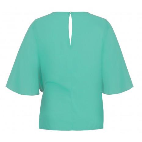 Стильная бирюзовая блуза RINASCIMENTO 86772