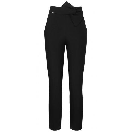Черные прямые брюки RINASCIMENTO 85666