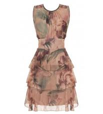 Яркое платье с принтом RINASCIMENTO 86170