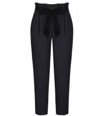Черные брюки с поясом RINASCIMENTO 87691