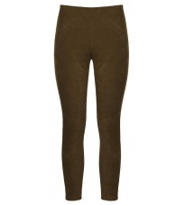 Укороченные темно-коричневые брюки RINASCIMENTO 88343