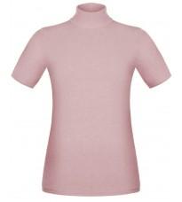 Розовый джемпер с короткими рукавами RINASCIMENTO 8836