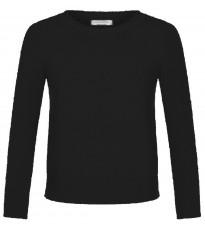 Черный укороченный джемпер RINASCIMENTO 8840