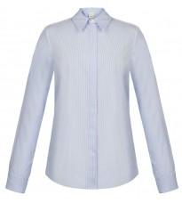 Голубая блуза в полоску RINASCIMENTO 88713