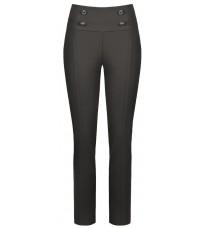 Черные брюки с пуговицами RINASCIMENTO 88870