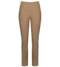 Бежевые брюки с пуговицами RINASCIMENTO 88870