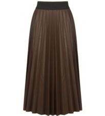 Коричневая плиссированная юбка RINASCIMENTO 88955