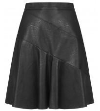 Черная кожаная юбка RINASCIMENTO 88968