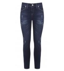 Синие джинсы с потертостями RINASCIMENTO 87624