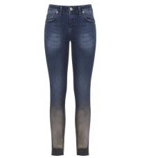 Синие джинсы с напылением RINASCIMENTO 87735