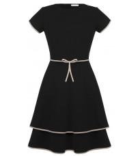 Черное платье с декором RINASCIMENTO 88404