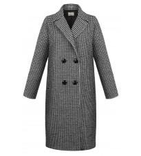 Стильное двубортное пальто RINASCIMENTO 89277