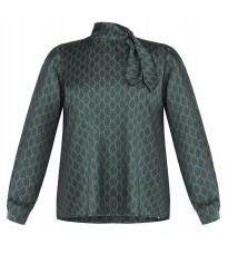 Зеленая блуза с узором RINASCIMENTO 89881