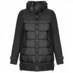 Черная стеганная куртка RINASCIMENTO 86272