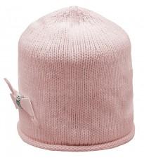 Розовая шапка с бантом Rinascimento 11714