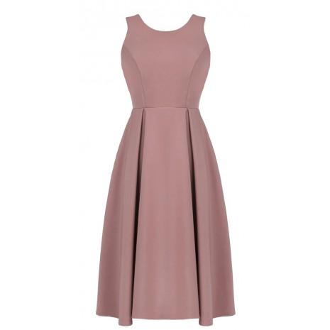 Стильное розовое платье RINASCIMENTO 85280