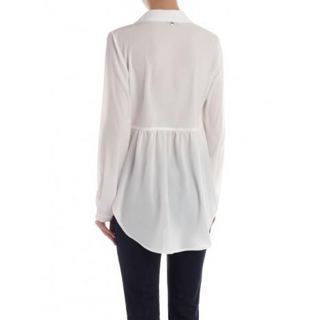 Белая блуза с декором RINASCIMENTO 85344