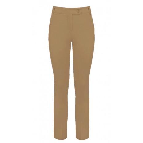Коричневые прямые брюки RINASCIMENTO 85520