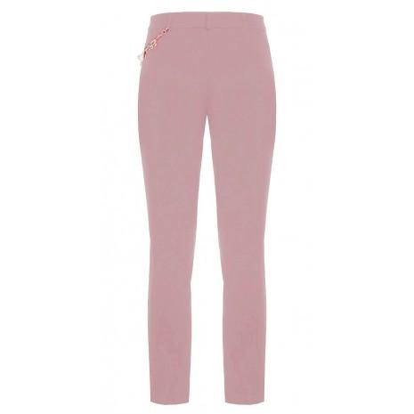 Розовые брюки с декором RINASCIMENTO 85537