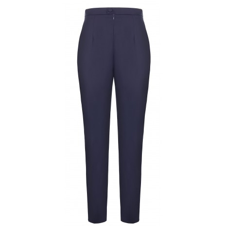 Синие зауженные брюки RINASCIMENTO 85870