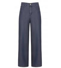 Синие широкие брюки RINASCIMENTO 85881