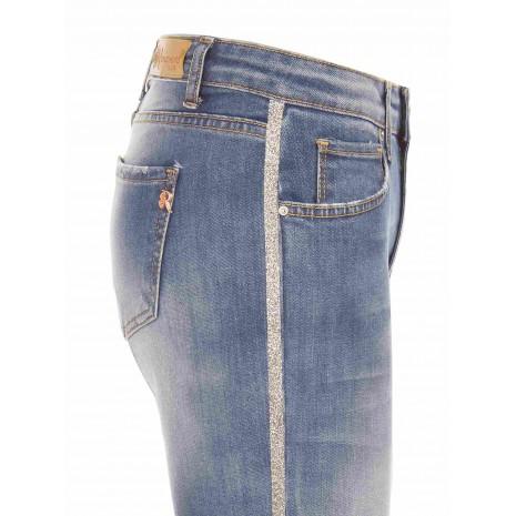 Синие джинсы с декором RINASCIMENTO 85923