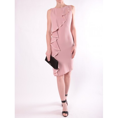 Розовое платье с декором RINASCIMENTO 86139