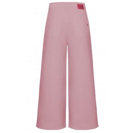 Розовые широкие брюки RINASCIMENTO 86585