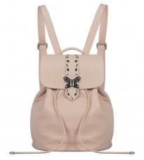 Кожаный розовый рюкзак RINASCIMENTO 11097
