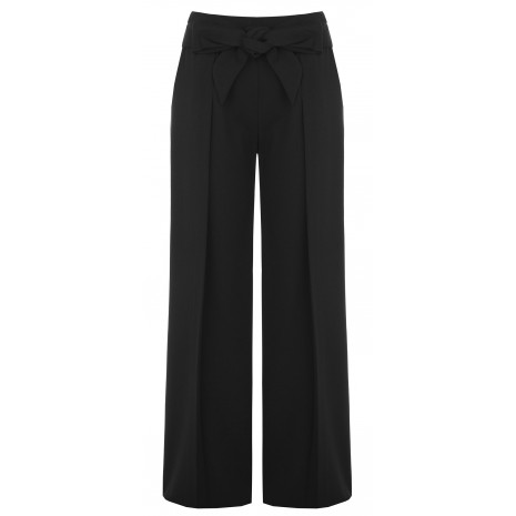 Широкие черные брюки RINASCIMENTO 15534