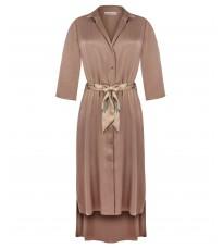 Бежевое платье с поясом RINASCIMENTO 15551