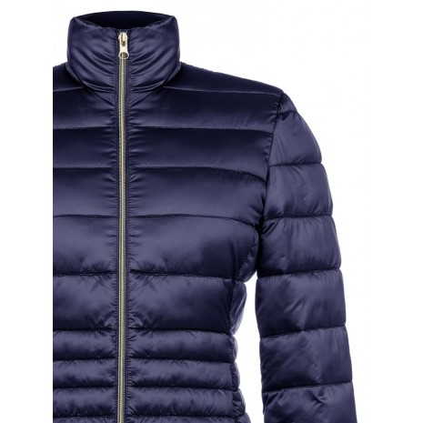 Синяя стеганная куртка RINASCIMENTO 83950