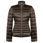 Коричневая стеганная куртка RINASCIMENTO 83950