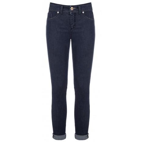 Темно-синие узкие джинсы RINASCIMENTO 84660