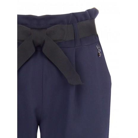 Синие брюки с поясом RINASCIMENTO 84837
