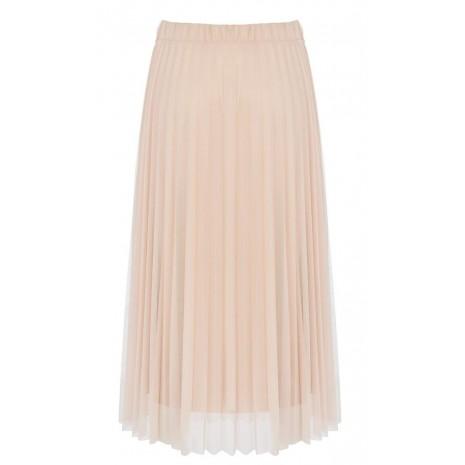 Розовая плиссированная юбка RINASCIMENTO 85545