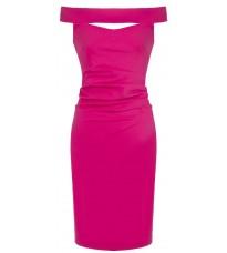 Яркое платье с открытыми плечами RINASCIMENTO 85240