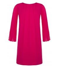 Яркое платье с плиссированными рукавами RINASCIMENTO 85557