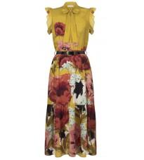 Яркое платье с цветочным принтом RINASCIMENTO 15999